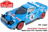 Car - 1/10 Electric - 4WD Rally - RTR - 2.4gHz - Lancia Stratos Montecarlo 79 Darniche
