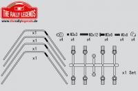 Replacement Part - Rally Legends - Sway Bars roll kit (1.4/1.6mm)