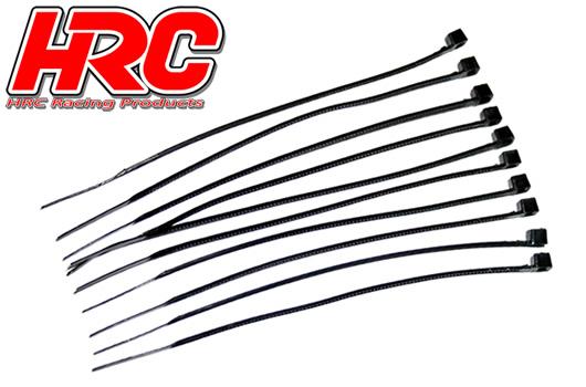 HRC Racing - HRC5021BK - Fascette - Piccole (100mm) - Nero (10 pzi)