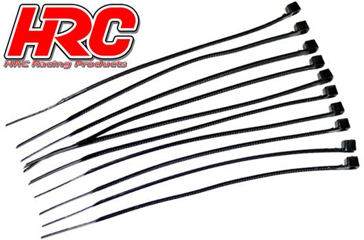 HRC Racing - HRC5031 - Fascette - Medium (140mm) - Nero (10 pzi)