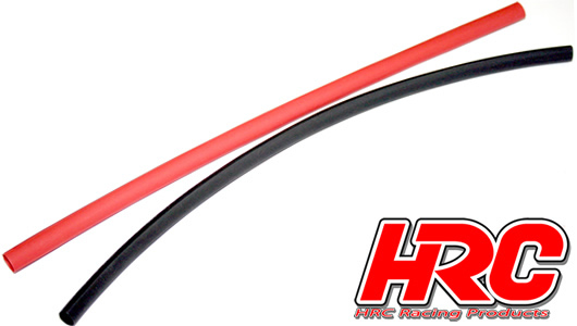 HRC - HRC5151 - Shrink Tube -  6mm - Red and Black (250mm each)