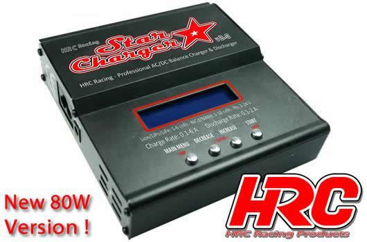 HRC Racing - HRC9352 - Charger - 12/230V - HRC Star Charger V2.0 - 80W