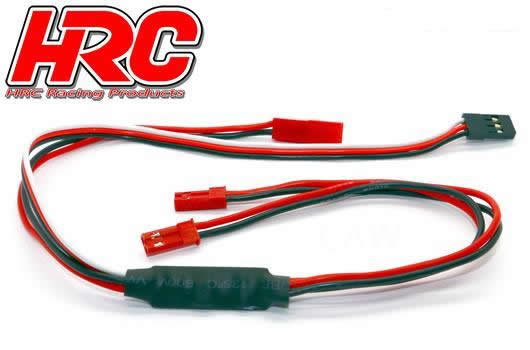 HRC Racing - HRC9258A - Switch - On/Off - Remote Controlled - BEC / BEC (JR / Receiver)