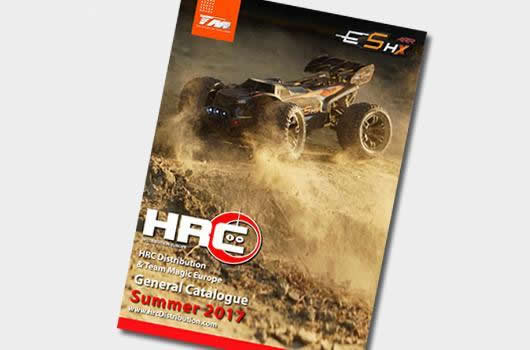 HRC Racing - HRC-17A - Catalog - HRC Distribution - Summer 2017 - English / German / French
