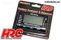 Battery Analyzer - Checker & Balancer with percentage display (LiPo)