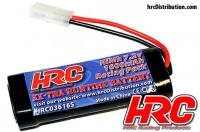 Battery - 6 cells - HRC 1600 - RC Car Micro - NiMH - 7.2V 1600mAh stick - Tamiya plug