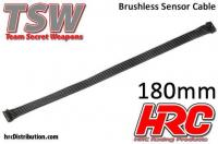 Brushless Flat Sensor Wire - TSW Pro Racing - 180mm