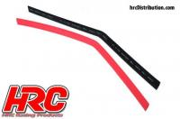 Shrink Tube -  8mm - Red and Black (250mm each)