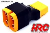 Adattatore - per 2 Pacchi di Batteria in Serie - Versione Compatta - XT90 Connettore