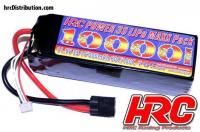 Battery - LiPo 3S - 11.1V 10000mAh 60C/100C - Traxxas X-Maxx - HRC Power 10000 - TRX Plug