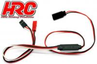 Switch - On/Off - Remote Controlled - BEC / BEC dual output (JR / Receiver)