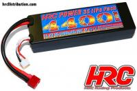 Battery - LiPo 3S - 11.1V 4400mAh 50C - RC Car - HRC 4400 - Hard Case - Ultra T Plug