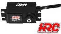 Servo - Digital - High Voltage - Low Profile CAR SPECIAL - 40.5x26x20 - 12kg/cm - Brushless - Pignons métal - Etanche - Double roulement à billes