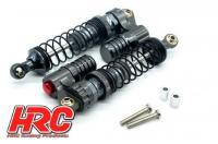 1 pair HRC Racing Öldruckstoßdämpfer 1//10 Buggy 85mm Titanium Shocks Set HRC28