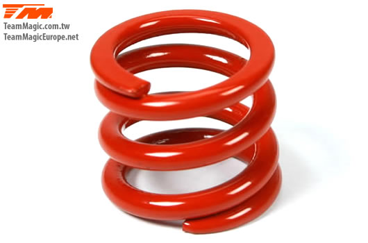 K Factory - K1410-6 - Option Part - Push Type Clutch Spring (1.6mm Red)