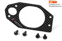 Option Part - G4 - Carbon Side Plate Right (G4 -S/+/RS/JS/All RTR)