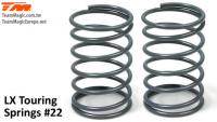 Shocks Springs - LX Touring - 1.1mm x 6 coils - 13x23.5mm #22