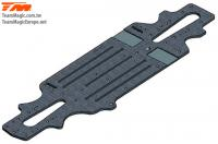 Option Part - E4RS II - Carbon Fiber - 2.5mm Chassis - SPECIAL PRICE