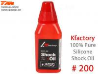 Silicone Shock Oil - 200 cps
