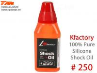 Silicone Shock Oil - 250 cps