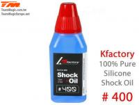 Silicone Shock Oil - 400 cps