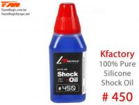 Silicone Shock Oil - 450 cps