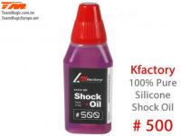 Silicone Shock Oil - 500 cps