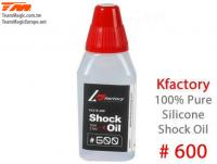 Silicone Shock Oil - 600 cps