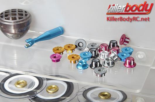 KillerBody - KBD48546 - Decor Parts - 1/10 Accessory - Scale - Garage Full Set - Finished