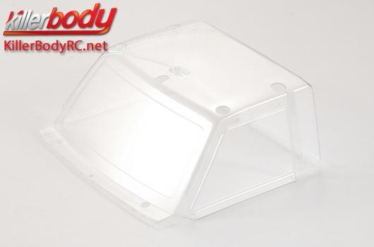 KillerBody - KBD48609 - Body Parts - 1/10 Crawler - Scale - Window Windshield Lexan for Toyota Land Cruiser 70