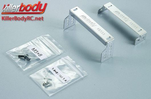 KillerBody - KBD48633 - Body Parts - 1/10 Crawler - Scale - Toyota Land Cruiser 70 Mounting SCX10 Lower Chassis
