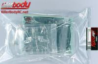 Carrosserie - 1/10 Touring / Drift - 190mm - Scale - Transparente - Mitsubishi Lancer Evolution X