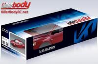 Carrosserie - 1/10 Touring / Drift - 190mm - Scale - Finie - Box - Mitsubishi Lancer Evolution X - Iron Oxide Rouge
