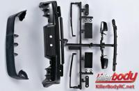 Body Parts - 1/10 Touring / Drift - Scale - Injection Accessories for Mitsubishi Lancer Evolution X