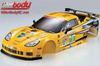 Body - 1/10 Touring / Drift - 190mm - Scale - Finished - Box - Corvette GT2 - Racing