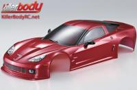 Body - 1/10 Touring / Drift - 190mm - Scale - Finished - Box - Corvette GT2 - Iron Oxide Red