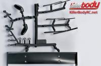Body Parts - 1/10 Touring / Drift - Scale - Injection Accessories for Corvette GT2