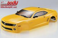 Body - 1/10 Touring / Drift - 190mm - Scale - Finished - Box - Camaro 2011 - Yellow