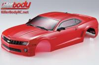 Body - 1/10 Touring / Drift - 190mm - Scale - Finished - Box - Camaro 2011 - Red