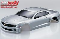 Body - 1/10 Touring / Drift - 190mm - Scale - Finished - Box - Camaro 2011 - Silver