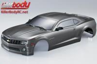 Body - 1/10 Touring / Drift - 190mm - Scale - Finished - Box - Camaro 2011 - Gunmetal