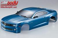 Body - 1/10 Touring / Drift - 190mm - Scale - Finished - Box - Camaro 2011 - Metallic Blue