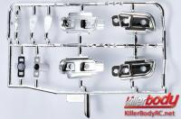 Body Parts - 1/10 Touring / Drift - Scale - Electroplated Light Bucket Set for Camaro 2011