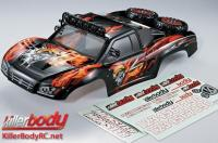 Body - 1/10 Short Course - Scale - Finished - Box - Monster - Mars Graphics - fits Traxxas / HPI / Associated Short Course Trucks
