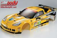 Body - 1/7 Touring - Traxxas XO-1 - Scale - Finished - Box - Corvette GT2 - Racing