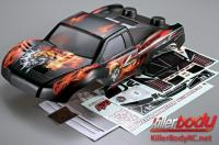 Body - 1/10 Short Course - Scale - Painted - Monster - Mars Graphics - fits Traxxas / HPI / Associated Short Course Trucks