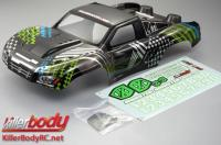 Body - 1/10 Short Course - Scale - Finished - Monster - The Hulk Pattern - fits Traxxas / HPI / Associated Short Course Trucks