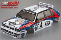 Body - 1/10 Touring / Drift - 195mm - Scale - Finished - Box - Lancia Delta HF Integrale - Racing