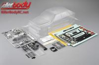 Body - 1/10 Touring / Drift - 195mm - Scale - Clear - Lancia Delta HF Integrale
