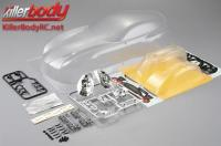 Body - 1/10 Touring / Drift - 195mm - Scale - Clear - Alfa Romeo TZ3 Corsa